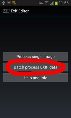 Exif Editor Android