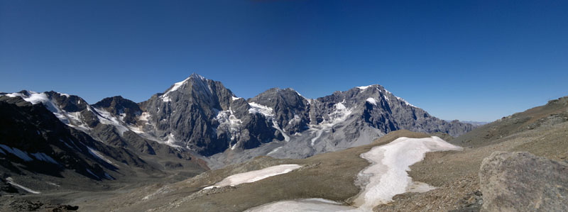 Panorama Madritschjoch/South Tyrol